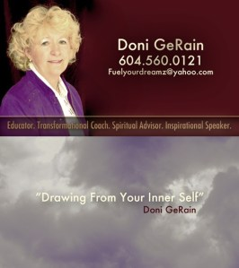 Doni GeRain – Business Card Mock Ups