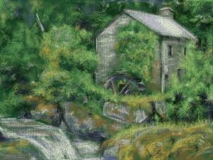 Watermill Cottage – 3ds Painting