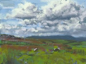 Cloudscape Painting: Art Academy 3DS