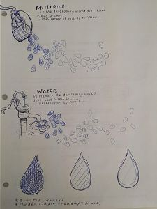 LHF and Samaritan's Purse: Water Donation Mural Sketches