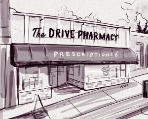 Illustration: The Drive Pharmacy