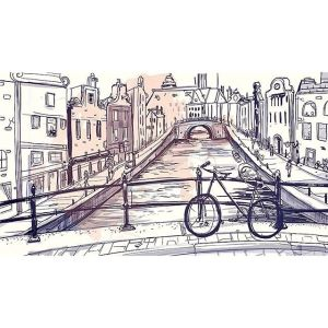 Sketches: Amsterdam Canal