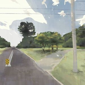Digital Plein Air Study: Dorval Google Street View