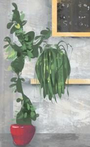 Creative Block – Plant Study