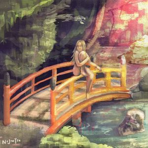 Painting Study: Bridge Lady