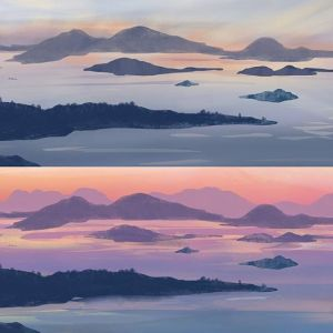 San Juan Islands – Painting Plans (Continued)
