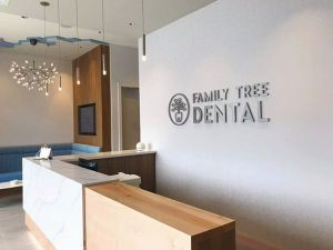 Logo: Family Tree Dental – Laser Cut and Installed