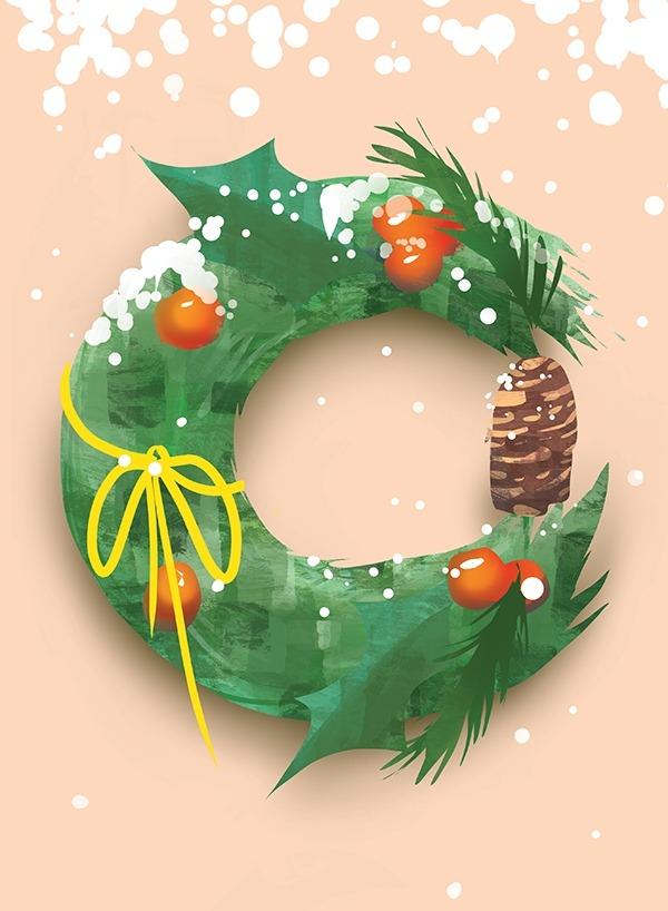 Illustration + Design: Christmas Card 2018