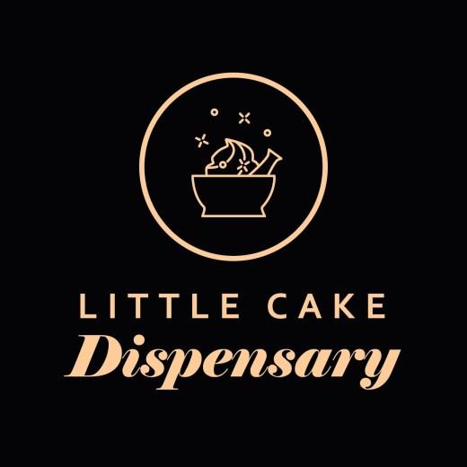 Logo Design: Little Cake Dispensary