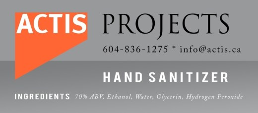Product Label Design: Actis Projects