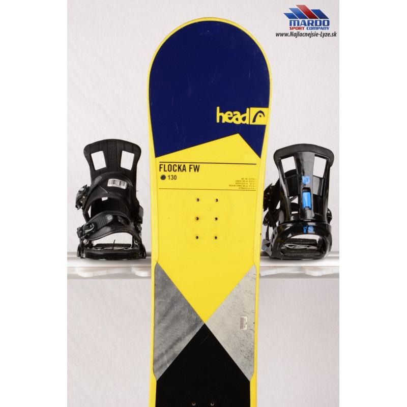 detský/juniorský snowboard HEAD FLOCKA FW 4D 2018. NAVY/yellow. woodcore. framewall. ROCKER - Najlacnejsie-lyze.sk