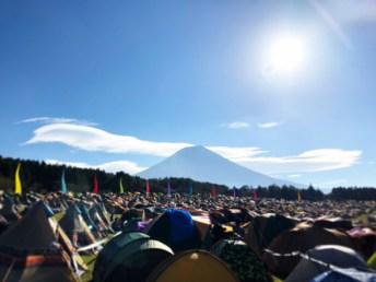2日目の富士山