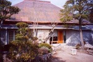 大原邸銅板屋根1