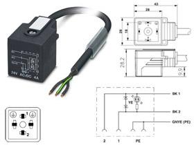 Conectores vlvula  UNITRONIC Fieldbus  Cables de datos
