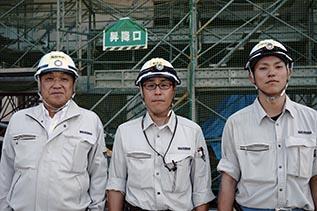 左より中山社長、村田さん、葛西さん