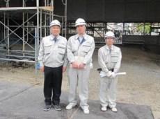 左から 中山社長、松本さん、香西さん