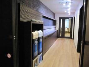 3階に増築された職員休憩室入り口