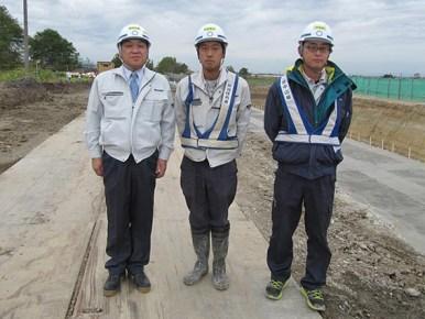 左から 社長・池本さん・澤田さん