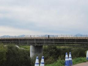 漁川橋現場の様子