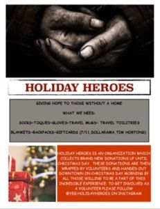 Holiday Heros Fundraiser @ Naked Cyber Cafe