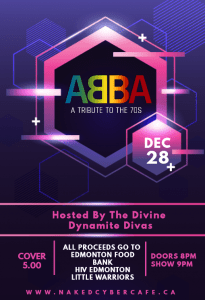 ABBA A TRIBUTE TO THE 70S @ NAKED CYBER CAFE