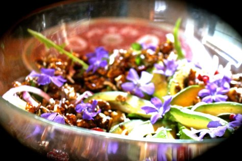 wild watercress salad