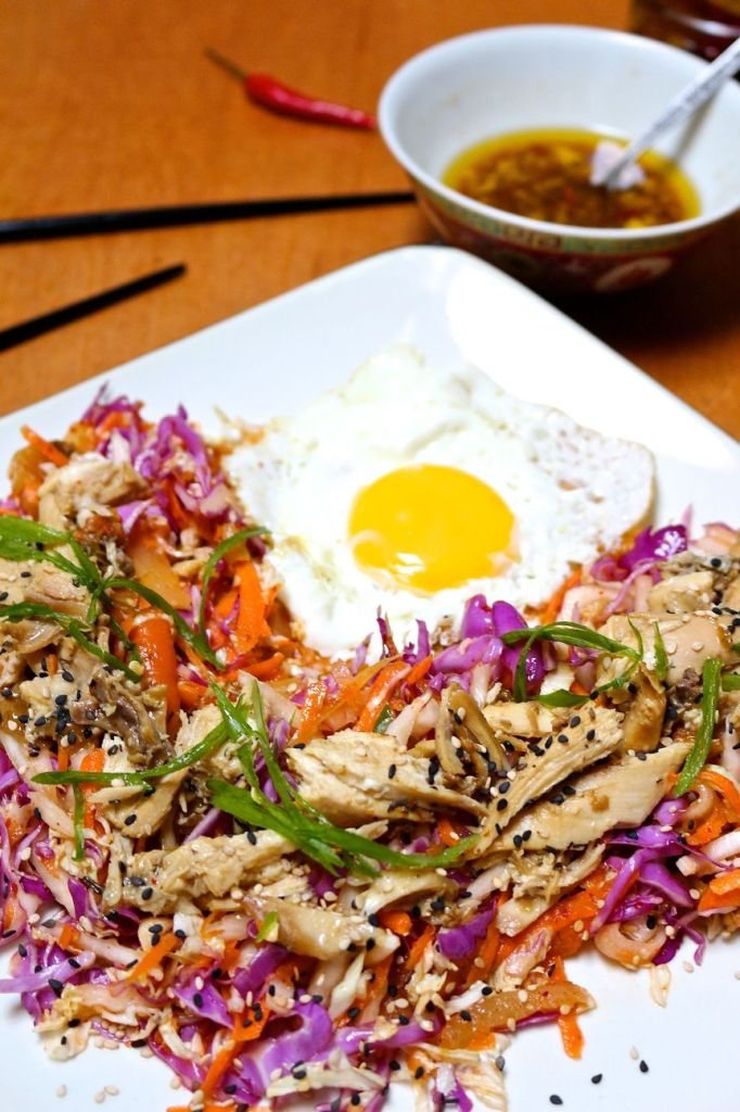 korean chicken salad