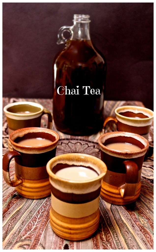 make your own chai tea concentrate