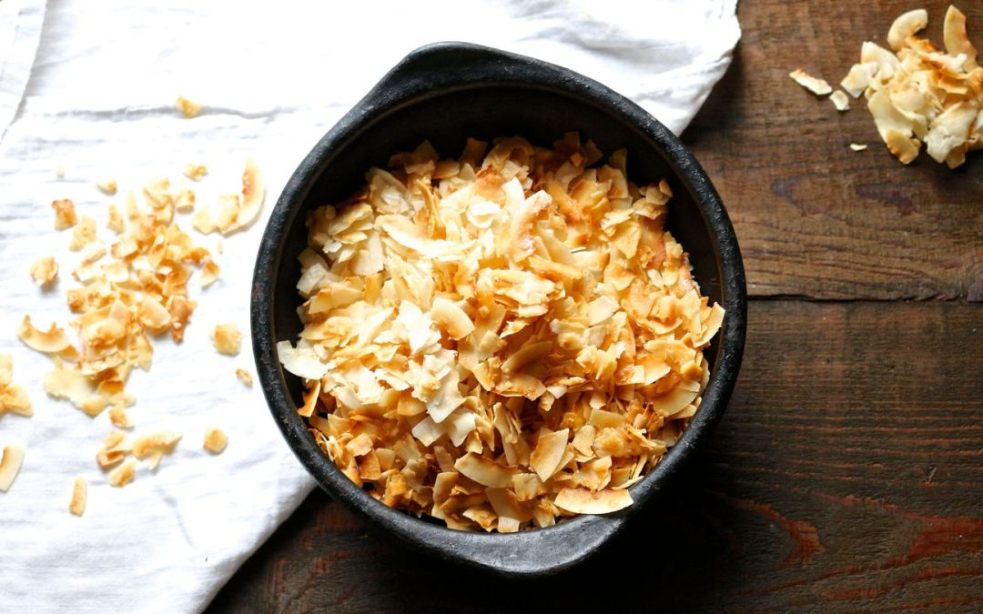 Sweet and Salty Coconut Chips