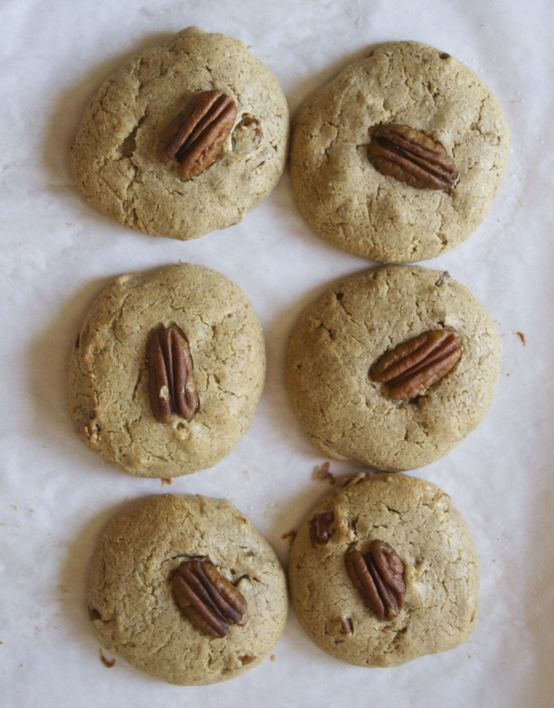 Maple Pecan Paleo Protein Cookies