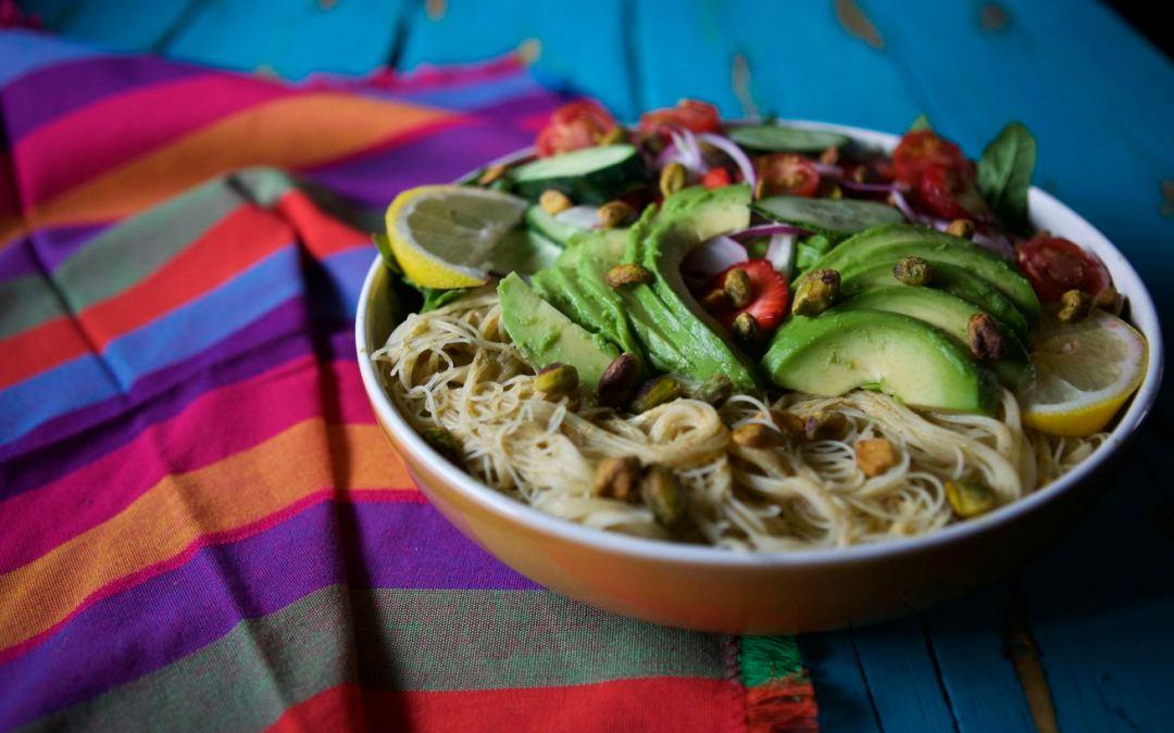 Summer Harvest Noodle Bowls