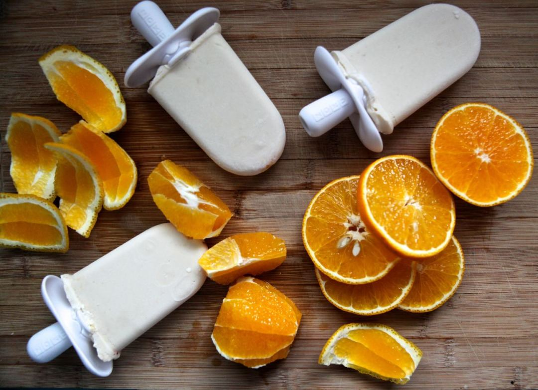Coconut Orange Creamsicles