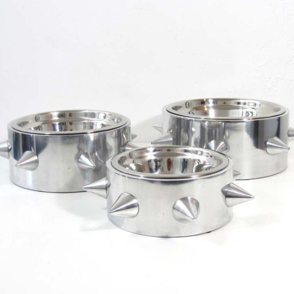 Bruno Stainless Steel Spiked Bowls