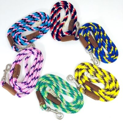 Rope Leashes - Tri Color
