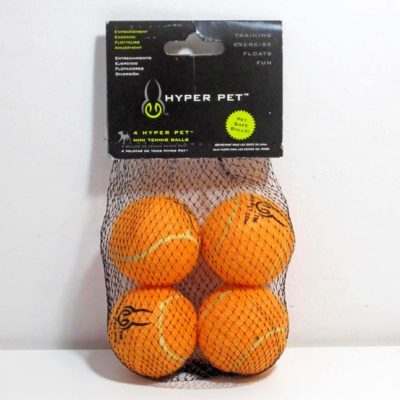 Tennis Ball Mini Orange 4 pack