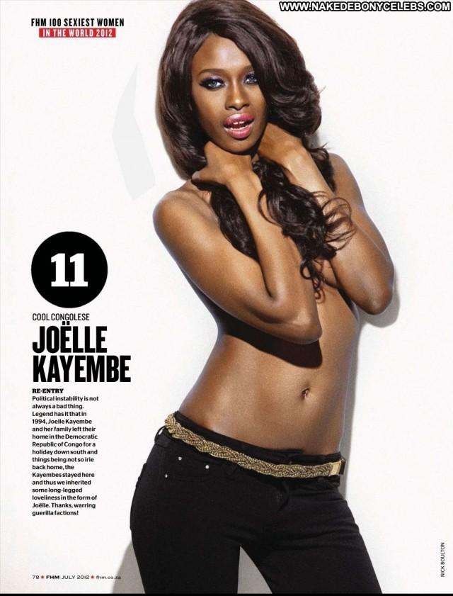 Joelle Kayembe Miscellaneous International Celebrity Big Tits Ebony