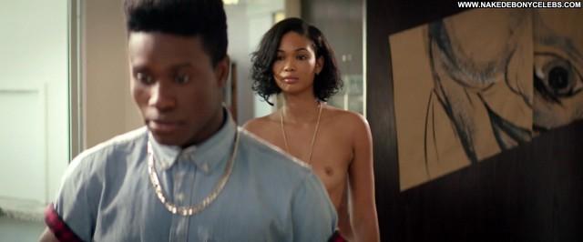 Chanel Iman Dope Ebony Skinny Small Tits Doll Brunette Sensual