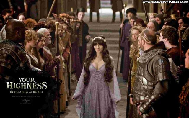 Zooey Deschanel Your Highness Posing Hot Pretty Celebrity Brunette