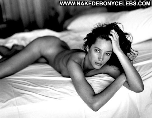 Christy Turlington Hoot Topless Model Magazine Beautiful Famous
