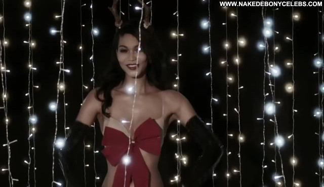 Chanel Iman Love Advent Brunette Skinny Celebrity Small Tits Gorgeous