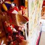 Japanese Hina dolls made of Crêpe