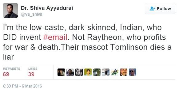 V.A.Shah Tweet