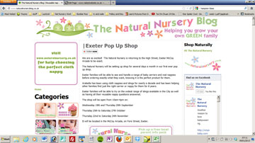 The Natural Nursery Blog - a WordPress Site