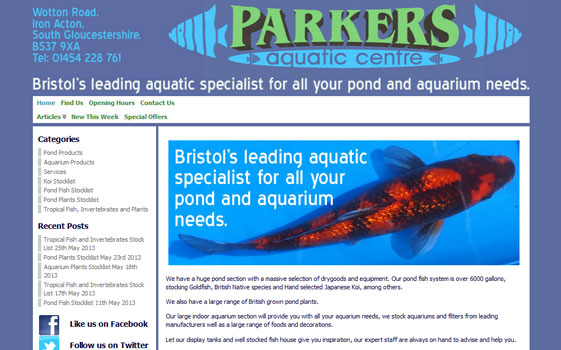 www.parkersaquatic.com
