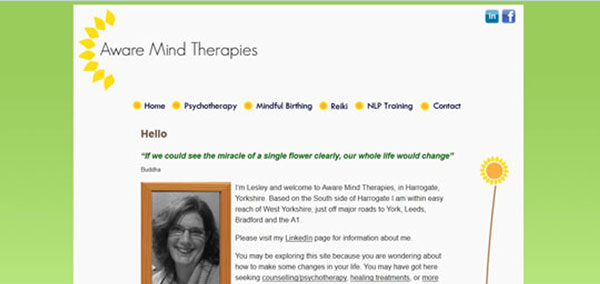 Aware Mind Therapies Before