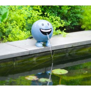 Ubbink spuitfiguur be happy blauw