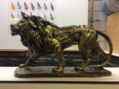 Leeuw brons