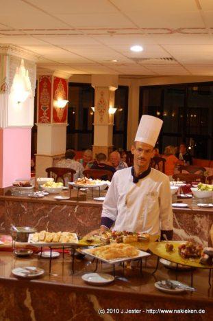 Koch im Restaurant