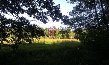 Kloster Ihlow vom Wald