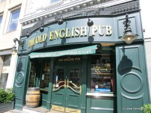 The Old English Pub in Copenhagen